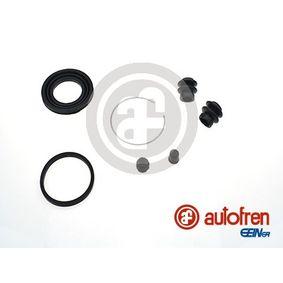 Įsigyti ir pakeisti remonto komplektas, stabdžių apkaba AUTOFREN SEINSA D42149