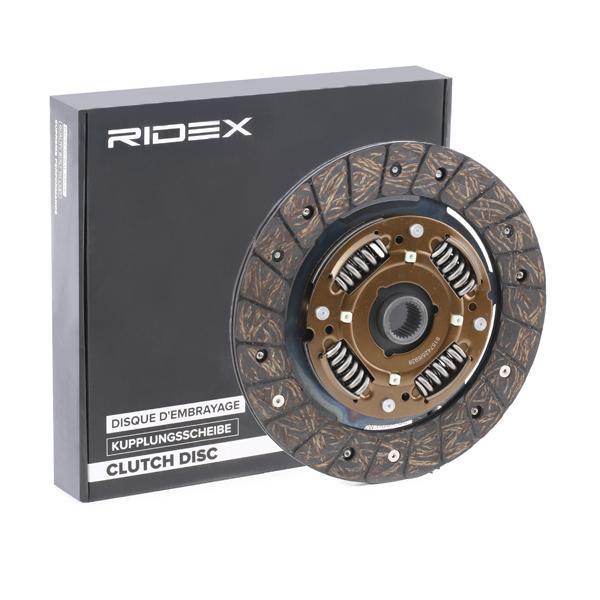 RIDEX | Clutch Disc 262C0003