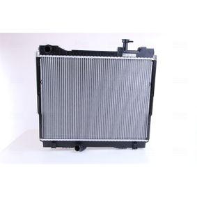 68742 NISSENS ohne Rahmen, Kühlrippen gelötet, Aluminium Kühler, Motorkühlung 68742 günstig kaufen
