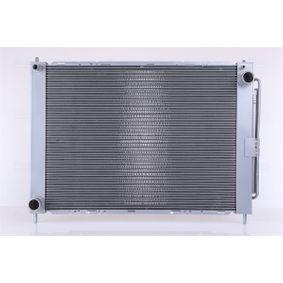 68757 NISSENS mit Trockner, Netzmaße: 510 x 388 x 16 mm Kühlrippen gelötet, für OE-Nr.: 21400AX301 Kühlmodul 68757 günstig kaufen