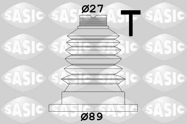 Comprare 1906040 SASIC sul lato del cambio, Lamiera d'acciaio, Thermoplast Kit cuffia, Semiasse 1906040 poco costoso