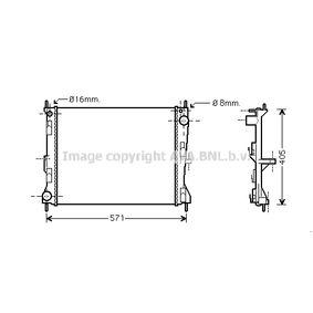 DS011R010 PRASCO Aluminium, Kunststoff Netzmaße: 495x388x24 Kühler, Motorkühlung DNA2235 günstig kaufen