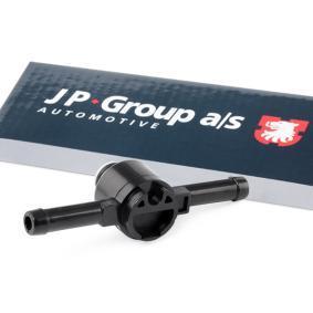 Įsigyti ir pakeisti vožtuvas, degalų filtras JP GROUP 1116003500