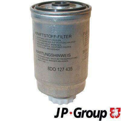 Volkswagen TOUAREG JP GROUP Bränslefilter 1118703500
