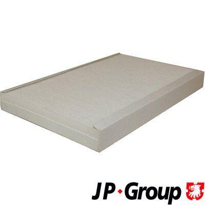 AUDI 100 1993 Innenraumluftfilter - Original JP GROUP 1128100700 Breite: 193mm, Höhe: 31mm, Länge: 310mm