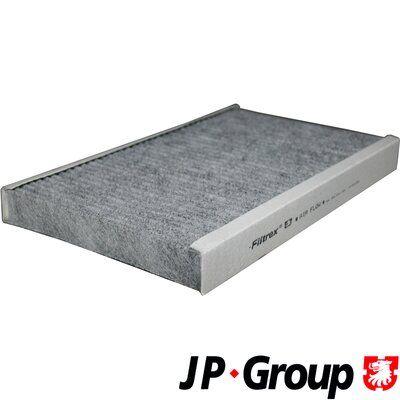 AUDI 100 1992 Filter Innenraumluft - Original JP GROUP 1128102000 Breite: 194mm, Höhe: 30mm, Länge: 310mm