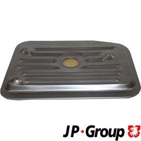 Kupte a vyměňte Hydraulický filtr, automatická převodovka JP GROUP 1131900400