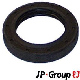 Įsigyti ir pakeisti veleno sandariklis, diferencialas JP GROUP 1132100300