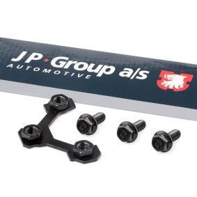 Comprar y reemplazar Chapa de protección, rótula de suspensión / carga JP GROUP 1140250400