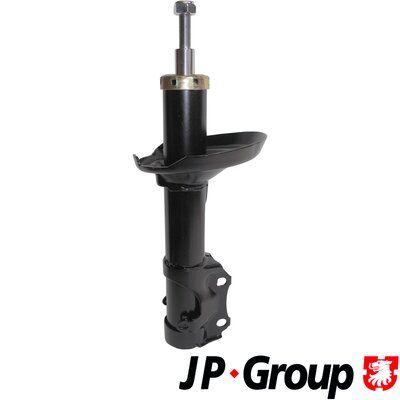 Купете 1142100709 JP GROUP предна ос, маслен, макферсън, отгоре щифт Амортисьор 1142100700 евтино