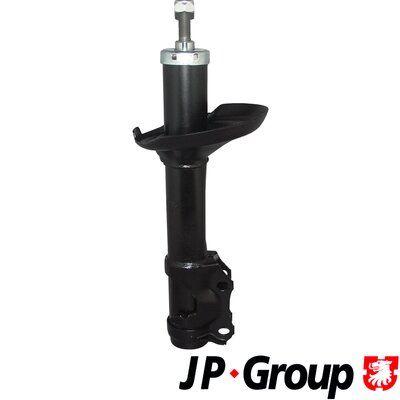 Купете 357413031RALT JP GROUP предна ос, маслен, двутръбен, макферсън, отгоре щифт Амортисьор 1142103300 евтино
