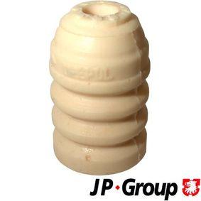 Kupi 1142600500 JP GROUP sprednja os Visina: 83mm Omejilni odbojnik, vzmetenje 1142600500 poceni