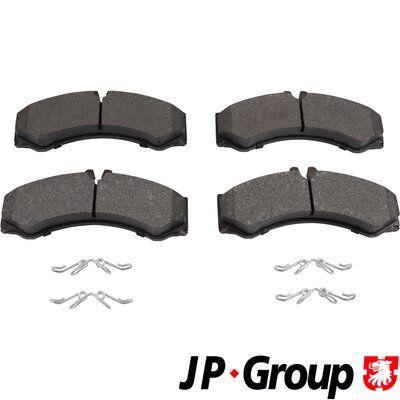 JP GROUP Kit de plaquettes de frein, frein à disque 1163601610
