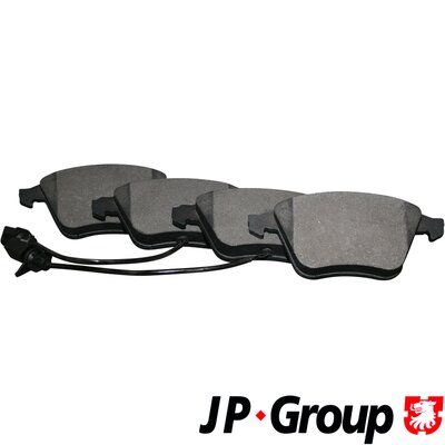 Bremssteine JP GROUP 1163607010