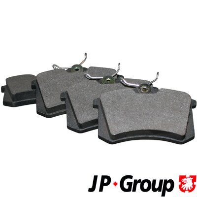 1163705319 JP GROUP Hinterachse, nicht für Verschleißwarnanzeiger vorbereitet Dicke/Stärke: 15,2mm Bremsbelagsatz, Scheibenbremse 1163705310 günstig kaufen