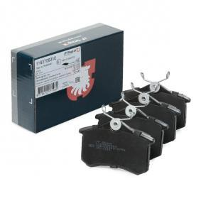7M0698451ALT JP GROUP Hinterachse, nicht für Verschleißwarnanzeiger vorbereitet Dicke/Stärke: 17,2mm Bremsbelagsatz, Scheibenbremse 1163706310 günstig kaufen