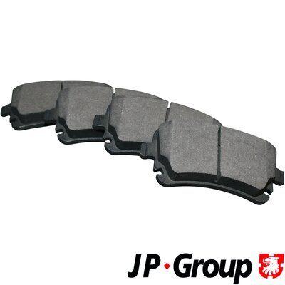 Bremsbelagsatz Scheibenbremse JP GROUP 1163706510