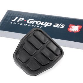 Kupte a vyměňte Povrchova vrstva pedalu, brzdový pedál JP GROUP 1172200100