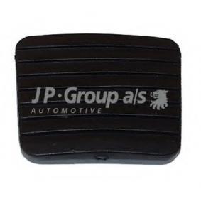 Kupte a vyměňte Povrchova vrstva pedalu, brzdový pedál JP GROUP 1172200200