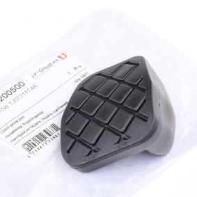 Kupte a vyměňte Oblozeni pedalu, spojkovy pedal JP GROUP 1172200500