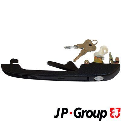 AUDI 80 1990 Schiebetürgriff - Original JP GROUP 1187102280