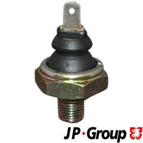 olajnyomás kapcsoló JP GROUP 1193500100 - vásároljon és cserélje ki!