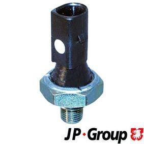 Comprar y reemplazar Interruptor de control de la presión de aceite JP GROUP 1193501200