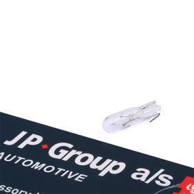 Comprar y reemplazar Lámpara incandescente, panel de instrumentos JP GROUP 1195901500