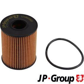 1218500809 JP GROUP Filtereinsatz Innendurchmesser: 27mm, Ø: 65mm, Höhe: 83mm Ölfilter 1218500800 günstig kaufen