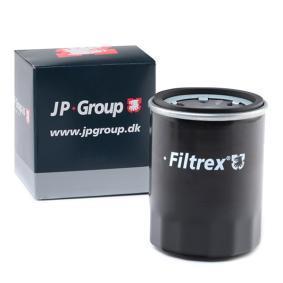 1218502709 JP GROUP Anschraubfilter, mit einem Rücklaufsperrventil Innendurchmesser 2: 54mm, Innendurchmesser 2: 62mm, Ø: 66mm, Höhe: 86,5mm Ölfilter 1218502700 günstig kaufen