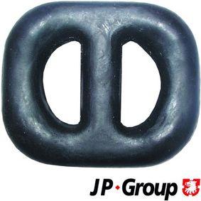 Comprar y reemplazar Soporte, sistema de escape JP GROUP 1221600700