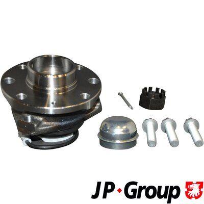 Купете 1603253ALT JP GROUP с интегриран магнитен сензорен пръстен, с колесен лагер, с допълнителен материал, от двете страни на предната ос Главина на колелото 1241400900 евтино