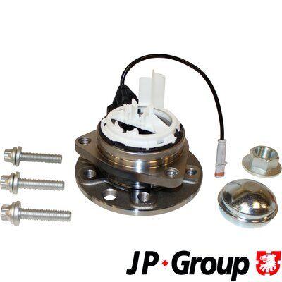 Купете 1241401109 JP GROUP с вграден сензор за ABS, с колесен лагер, с допълнителен материал, от двете страни на предната ос Главина на колелото 1241401100 евтино