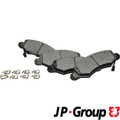 Bremsbelagsatz, Scheibenbremse JP GROUP 1263603010 Bewertungen
