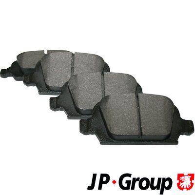 Bremsbelagsatz JP GROUP 1263700510