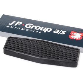 Aγοράστε και αντικαταστήστε τα Επίστρωση πεντάλ, πεντάλ γκαζιού JP GROUP 1272200500