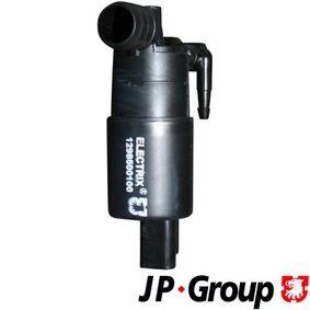 1298500100 JP GROUP 12V Anschlussanzahl: 2 Waschwasserpumpe, Scheibenreinigung 1298500100 günstig kaufen