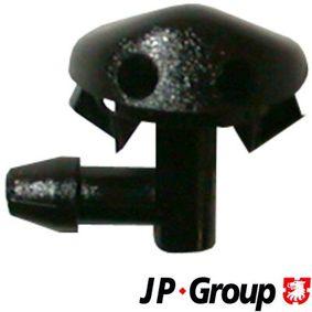 Dysza płynu spryskiwacza, spryskiwacz szyby czołowej JP GROUP 1298700200 kupić i wymienić