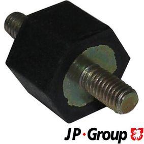 Køb og udskift Gummiklods, luftfilter JP GROUP 1318650200