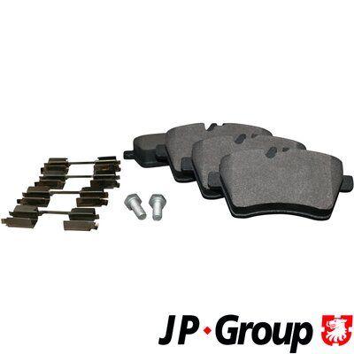 Scheibenbremsbeläge JP GROUP 1363601510