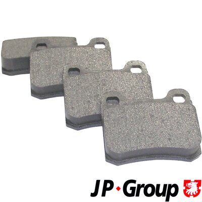 JP GROUP Bremsbelagsatz, Scheibenbremse 1363700110
