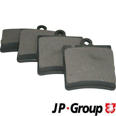 JP GROUP Bremsbelagsatz, Scheibenbremse 1363700610