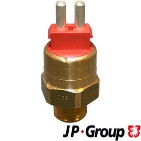 Comutator temperatura, ventilator radiator JP GROUP 1393200300 cumpărați și înlocuiți