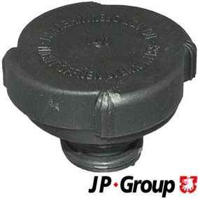 buy and replace Sealing Cap, coolant tank JP GROUP 1414250300