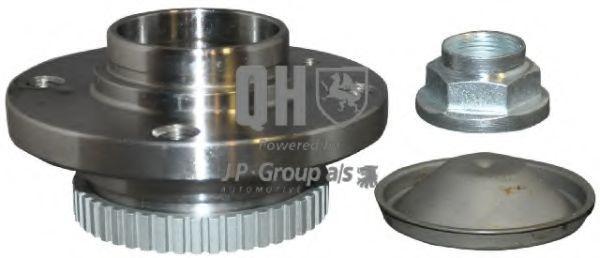 Купете QWB534 JP GROUP с вграден колесен лагер, с датчик-пръстен за ABS, от двете страни на предната ос, QH Главина на колелото 1441400109 евтино