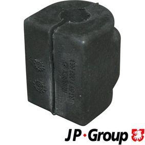 Comprar y reemplazar Casquillo del cojinete, estabilizador JP GROUP 1450450100