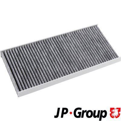 Купете OP1045 JP GROUP филтър с активен въглен ширина: 154мм, височина: 35мм, дължина: 345мм Филтър, въздух за вътрешно пространство 1528100700 евтино