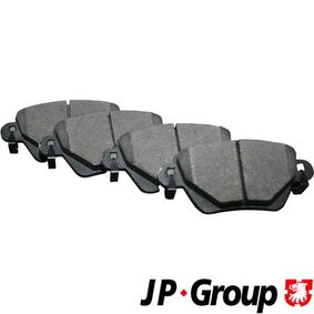 1563700210 Bremsbelagsatz, Scheibenbremse JP GROUP in Original Qualität