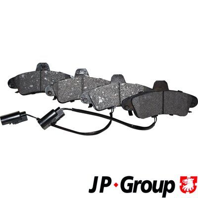 Bremsbelagsatz Scheibenbremse JP GROUP 1563700310