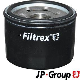 6118500109 JP GROUP Anschraubfilter, mit einem Rücklaufsperrventil Innendurchmesser 2: 54mm, Innendurchmesser 2: 62mm, Ø: 66mm, Höhe: 58mm Ölfilter 6118500100 günstig kaufen